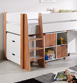 kinderhochbett mit schrank ihr traumhaus ideen. Black Bedroom Furniture Sets. Home Design Ideas